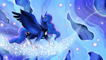 Commission: Luna Dreamscape by Eternity9
