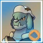 Blue HeavyDog Icon
