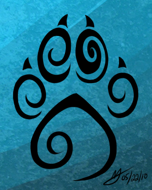 Wolf Paw TAT design by Tiki-Sama on DeviantArt