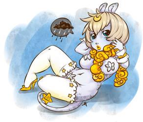Bunny Star by Tiki-Sama