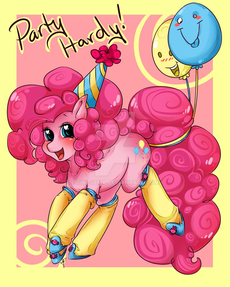 Pinky Pie by Tiki-Sama