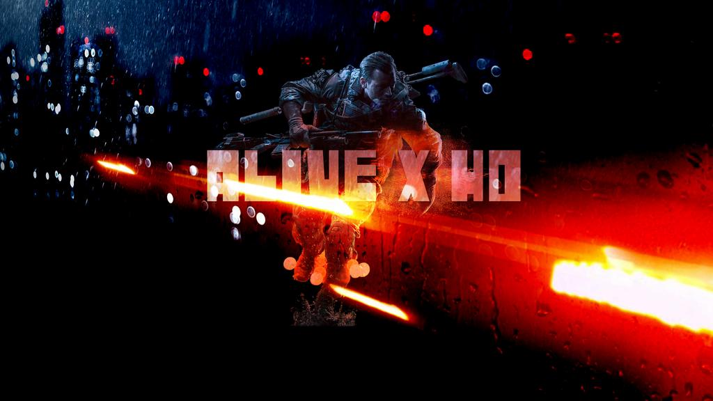ALIVE X HD written Battlefield 4 effect by AliveXhd
