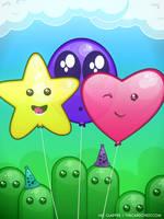 Happy Balloons by nikkoli