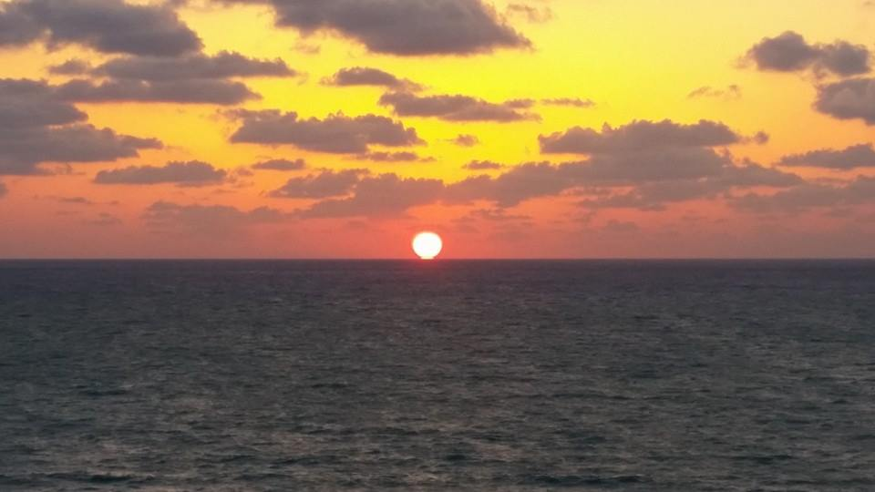 Atlantic Sunrise by Slicenndice