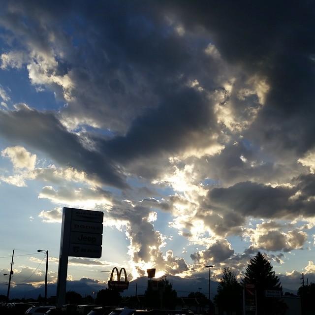 Rocky Mountain Sunset by Slicenndice