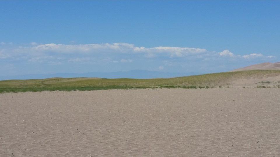 Sand and Sky by Slicenndice