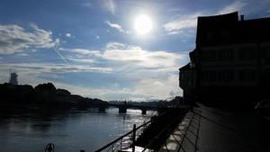 Rhine River by Slicenndice