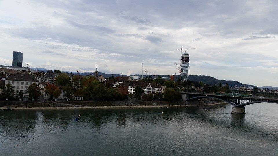 Rhine Skyline by Slicenndice