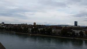 Rhine Skyline 2 by Slicenndice