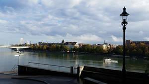 Rhine Skyline 3 by Slicenndice