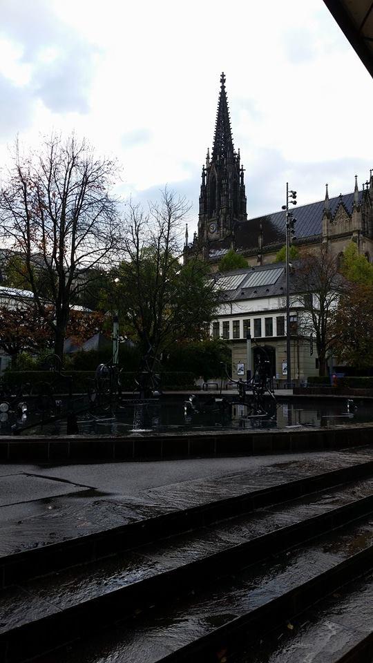 Tinguely Fountain by Slicenndice