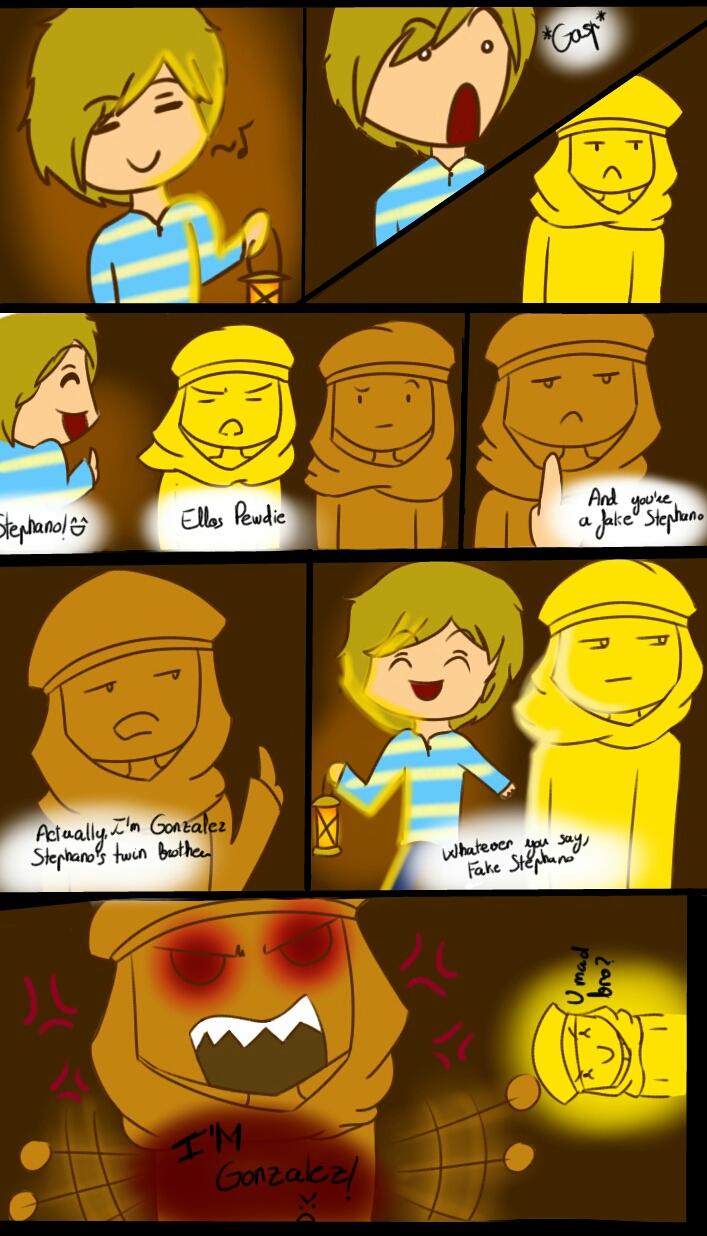 The Fake Stephano by KiShinYuu