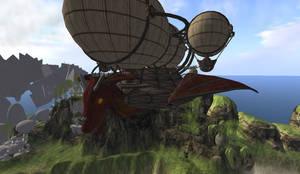 Tavern Airship