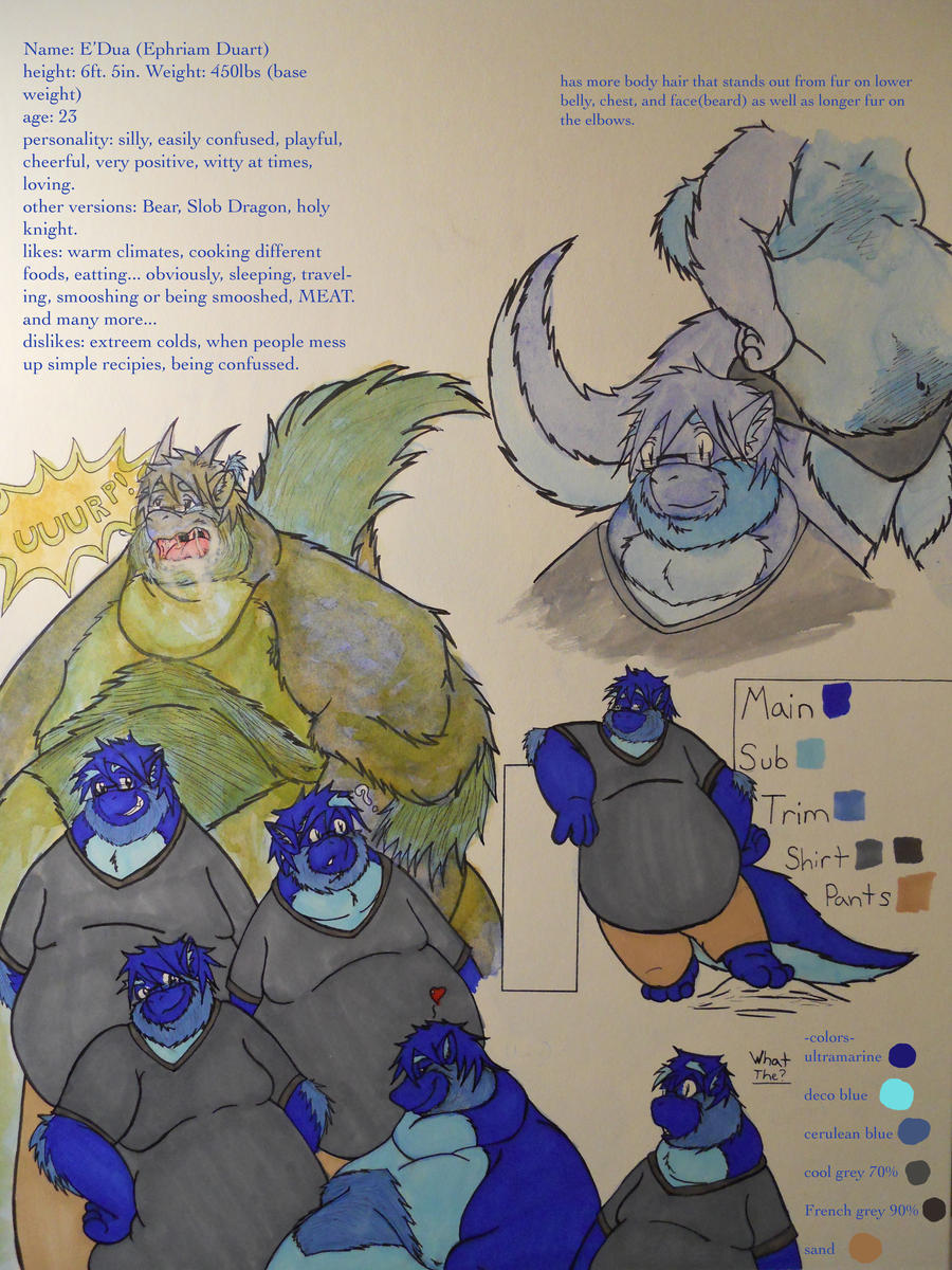 E'Dua reference page by drakoknight
