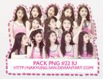 Pack PNG #22 IU