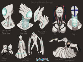 Neutral Realm Beings by BombOPAUL
