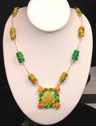 Citrus Necklace by StephieSparkles