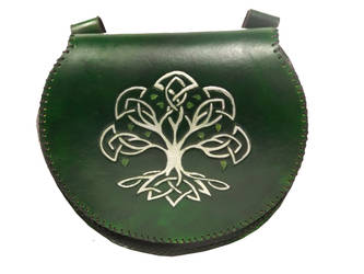 Celtic Tree Pouch by StephieSparkles