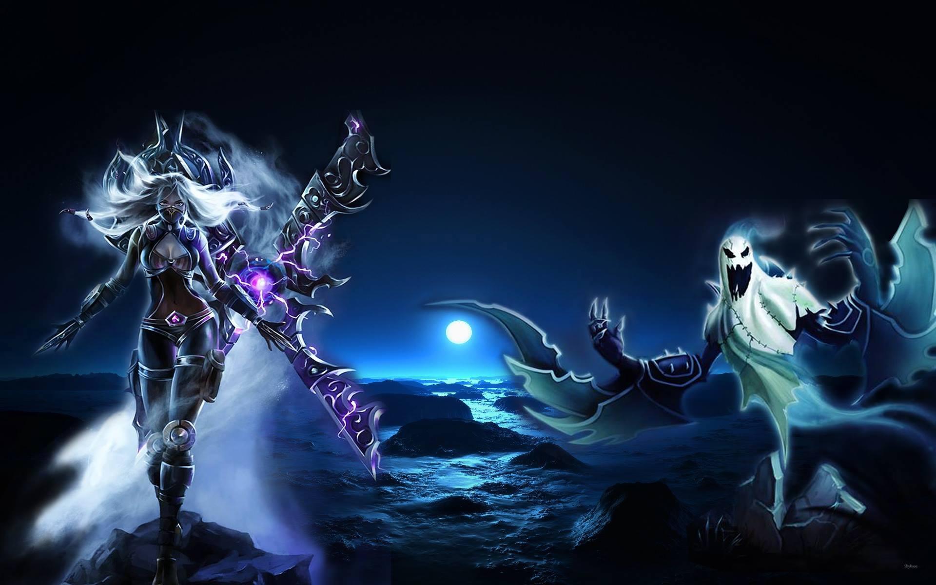 Nightblade Irelia X Haunting Nocturne Wallpaper by ...