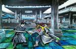 Vinny in japan by Greenminerthescoffer