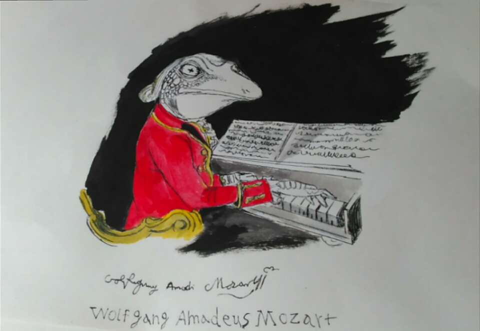 Wolfgang Amadeus Mozart by Greenminer