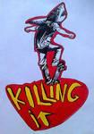 Killing it 17 by Greenminerthescoffer