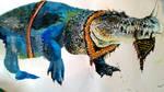 crocodile monster 13 by Greenminerthescoffer