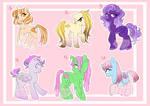 Unsold Pony Adopts Batch 1 // OTA // OPEN