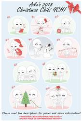 [OPEN] Aiko's 2018 Christmas Chibi YCH by blushingbats