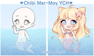 Chibi Mer-May YCH (10/10 SLOTS OPEN!) by blushingbats