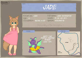 Gelea: Jade by Overgrandmapowerlord