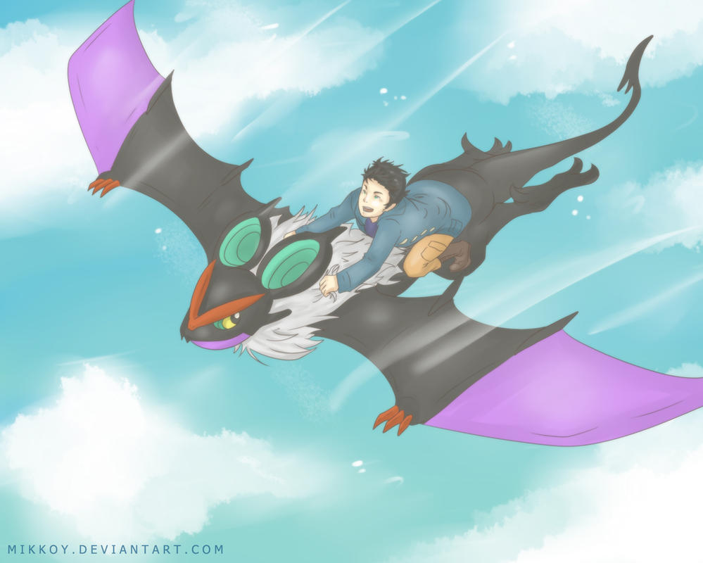 How To Train Your Noivern By Mikkoy On Deviantart