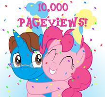 10,000 Pageviews! by MikeDugan