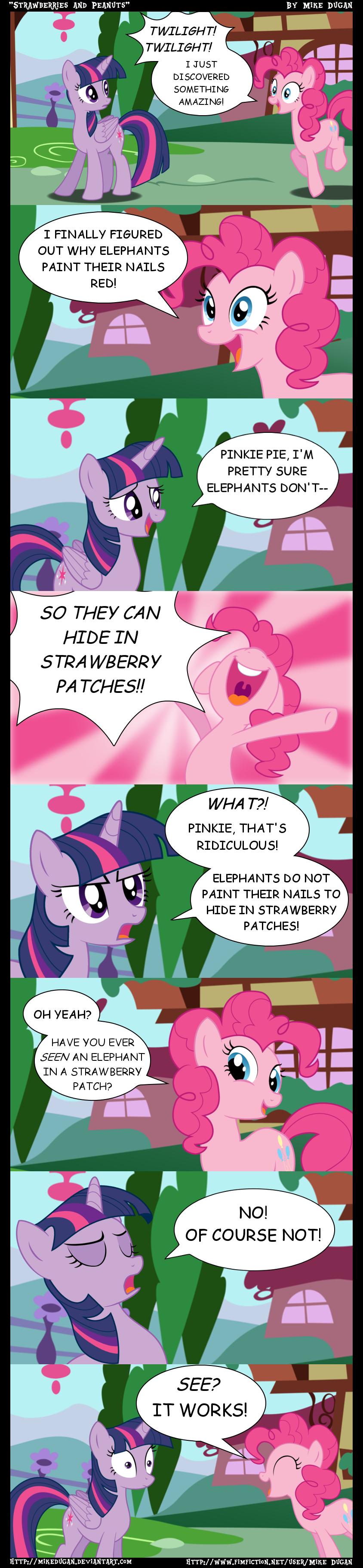 MLP Comic - Strawberries and Peanuts