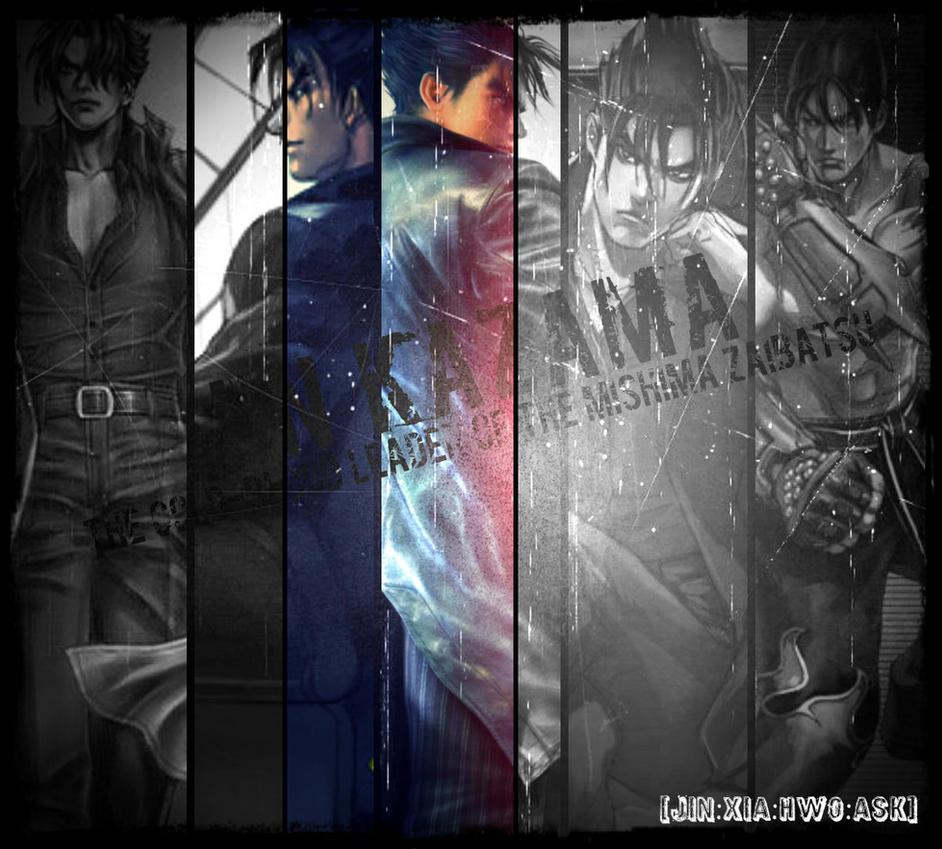 Jin Kazama Collage By JIN-XIA-HWO-ASK-STE On DeviantArt
