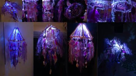 3D dreamcatcher lamp