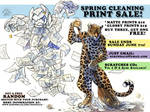 Spring Cleaning Print Sale