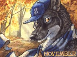 November Badge by screwbald