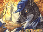 November Badge