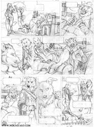 Nordguard, Sketched Page 35 by screwbald