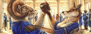 The Heads of House Gaar by screwbald