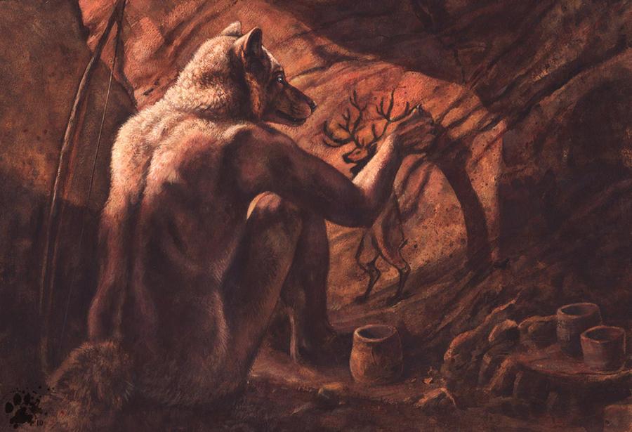 The Great Elk by screwbald