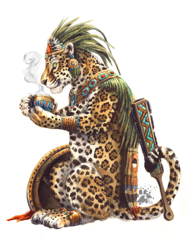 Aztec Coffee by screwbald
