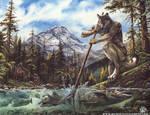 Werewolf Calendar - Salmon Run