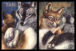 Tani and Nightfox Badges