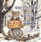 Winter Print Sale, now until Nov 13th