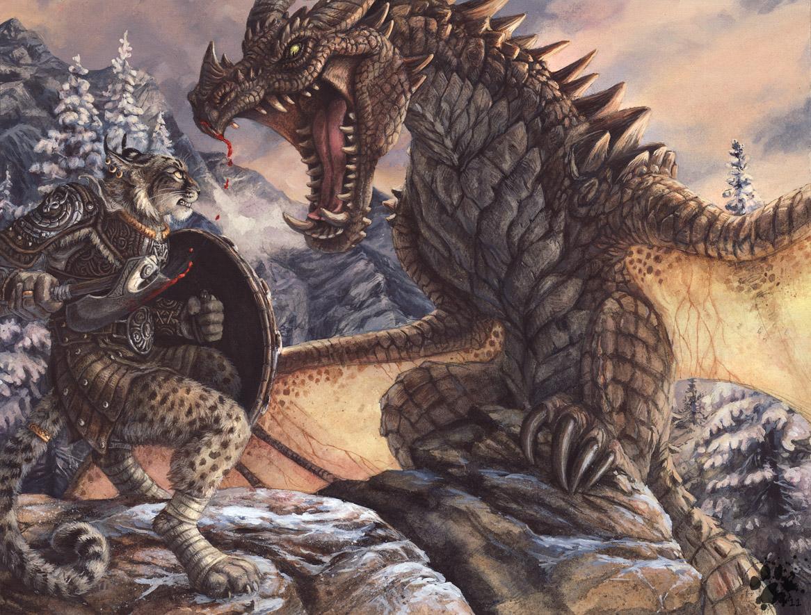 Dragonborn by screwbald