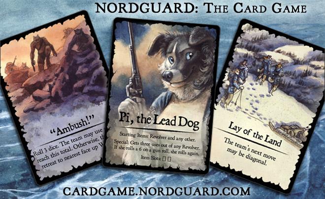 Nordguard Card Samples by screwbald