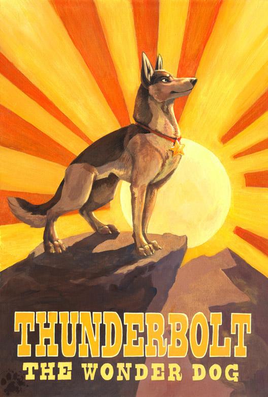 Thunderbolt by screwbald