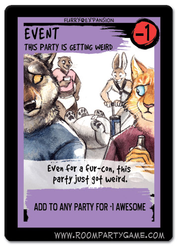 Room Party: Party Getting Weird by screwbald